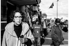 "Emmanuel College student, Nate Bishop, Lost In Union Strike, 2020, Glicee, 20"" x 24"""