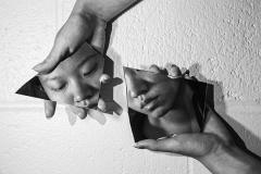 SMFA at Tufts student, Tina Naitian Zhang, Reflection (2), 2019.11, Digital Photography, 22''x 16''