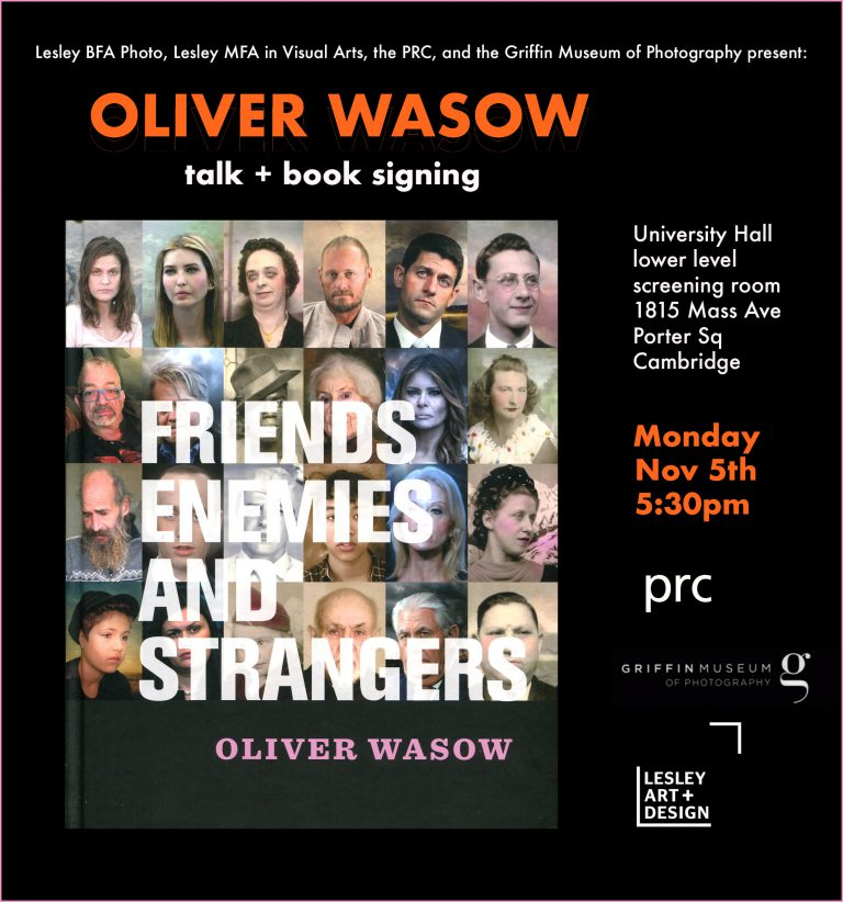 Oliver Wasow 'Friends, Enemies and Strangers' Talk & Booksigning, 11/5/18