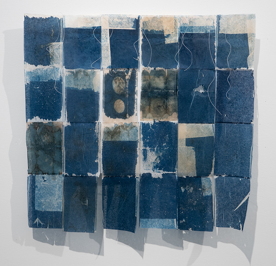 Cynthia Katz, So Blue, 2020, cyanotype