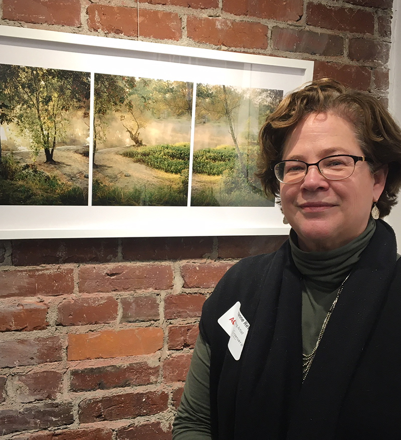 Photographer and writer, Suzanne Revy